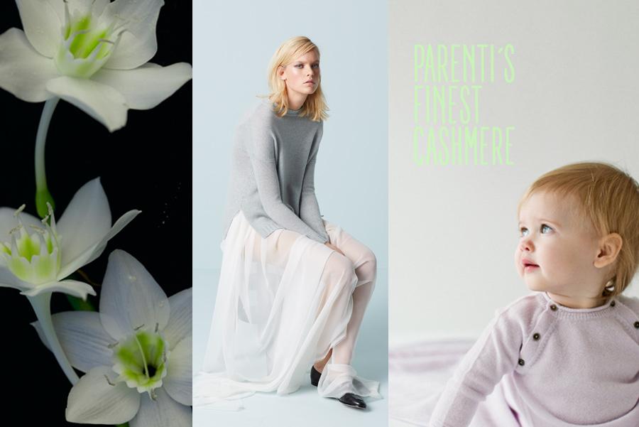 Parenti's Finest Cashmere steht für ungezwungene Eleganz – Artwork by Torsten Gatterdam kaltes © klares wasser