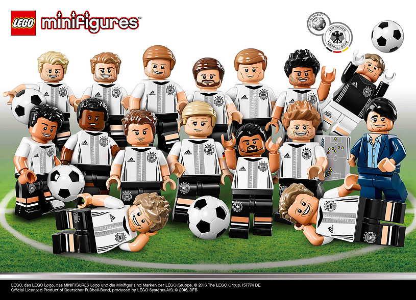 LEGO Minifiguren DFB Mannschaft