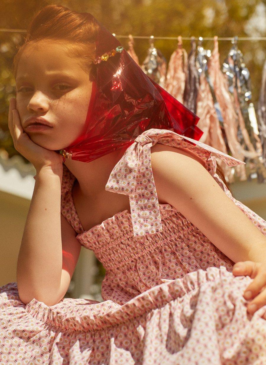 Nachthemd oder Sommerkleid? In der Sleepwear von BABYCHI kann man sich auch auf der Gartenparty sehen lassen
