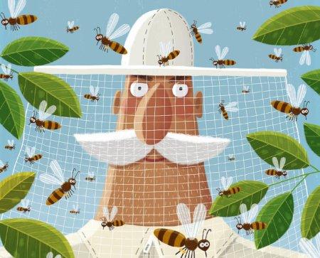 BIENEN von Piotr Socha, ein Bilderbuch nicht nur für Bienenliebhaber