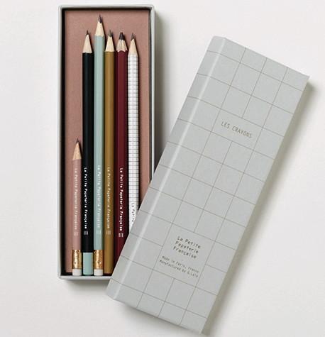 Bleistift Set von La Petite Papeterie Française über smallable