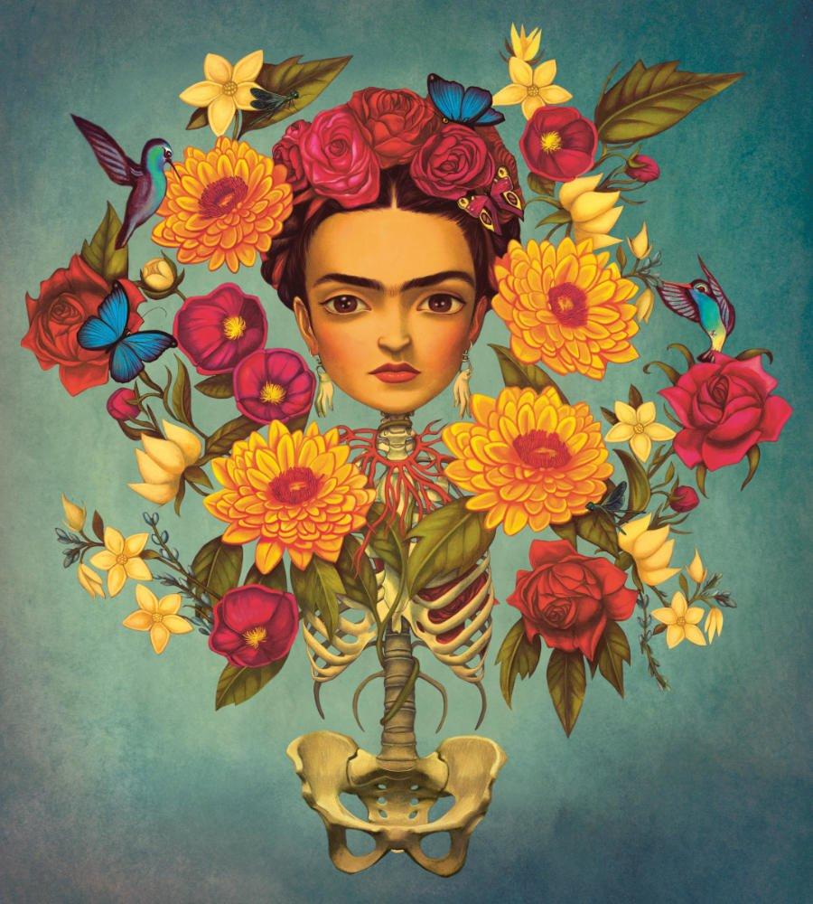 Vor einigen Tagen wäre Frida Kahlo 111 Jahre alt geworden – ihr Mythos ist unsterblich © Benjamin Lacombe, Gingko Press