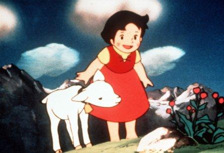 """""""Heidi, Heidi, deine Welt sind die Berge ..."""" Der Trickfilm-Klassiker Heidi ruft Kindheitserinnerungen wach © Studio 100"""