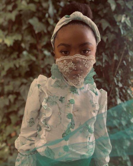 """Engelsgleich zart und wunderschön: die """"Lace Mask"""" von @jabellafleur bleibt leider nur ein Traum von einer Schutzmaske"""
