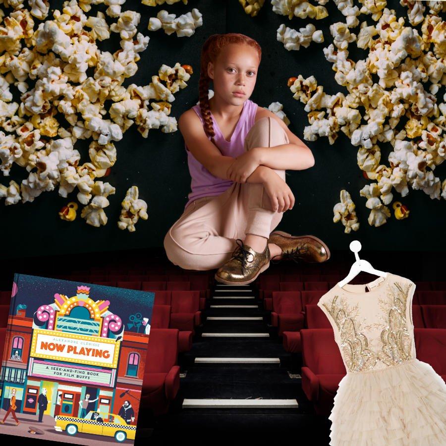 So glamourös wie der Goldjunge: die handgefertigten Derbies von Chapter 2 haben Red Carpet-Potenzial. Collage © MILAN Magazine