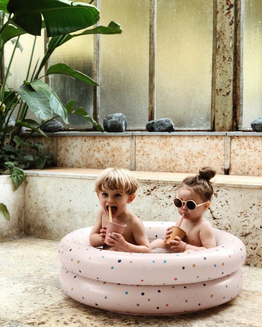 Evergreen und Designobjekt! Planschbecken für Kinder haben ihr Billig-Image abgestreift, wie dieser Pool von LIEWOOD zeigt