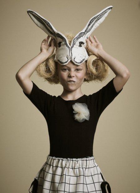 Oster-Outfit für Potterianer: LITTLE CREATIVE FACTORY macht mit dem Headpiece von ANIMALESQUE einen auf Peter Hase