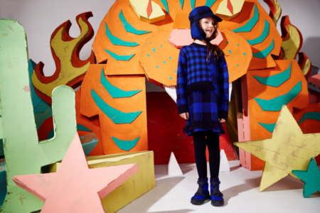 Very british – das Karokleid aus der Stella McCartney Kids Kollektion für den Herbst/Winter 2016