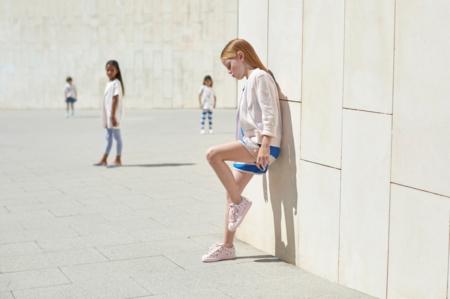 Schaut her, meine Schuhe – der legendäre Puma Basket im tinycottons Design