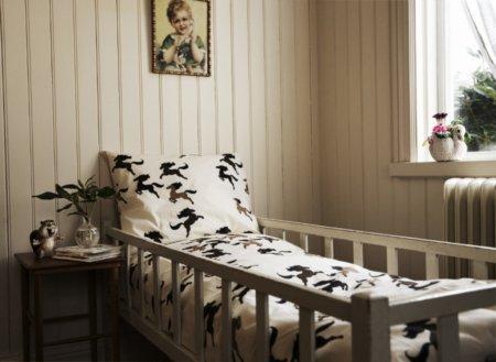 Müde bin ich, geh zur Ruh ... Hier trifft Nostalgie auf Pop-Art: nachhaltige Bettwäsche aus der neuen Home Collection von Mini Rodini