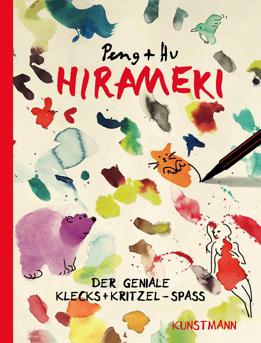 Am Anfang war der Klecks: HIRAMEKI bedeutet das Glück im Kleinsten finden. © Verlag Antje Kunstmann