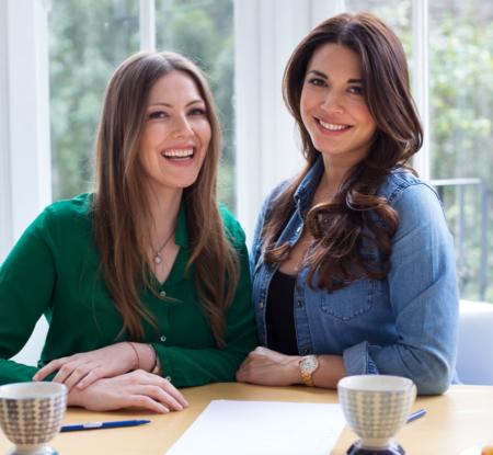 """Beste Freundinnen und Autorinnen von """"Clean Eating für Kinder & Familien"""": Tali Shine und Lohralee Astor – Photo © Patrycia Lukas"""