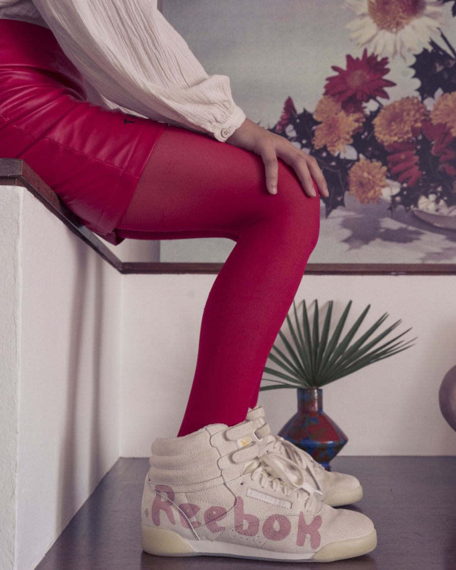 Sneaker-Nostalgie: der Reebok Freestyle Hi aus den Eighties als Neuinterpretation von The Animals Observatory