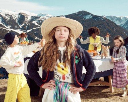 Die Zeiten werden ernster, die Modekampagnen lustiger: THE ANIMALS OBSERVATORY feiert mit Alpen-Nostalgie gegen die Tristesse