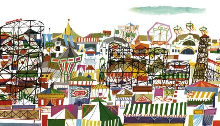Das schönste Volksfest der Welt, wo auch Kinder eine große Gaudi haben © Miroslav Sasek/ Antje Kunstmann Verlag
