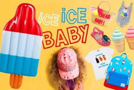 Ice Ice baby: Popsicles, Softeis und das klassische Gelato. Choose your Ice Cream! Collage by T. Gatterdam © kaltes klares wasser