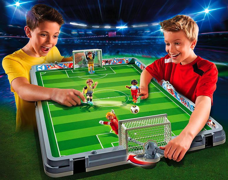 PLAYMOBIL Große Fußballarena zum Mitnehmen