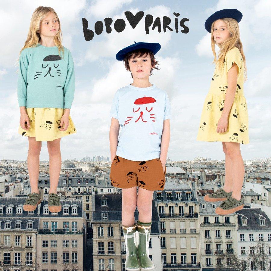 Pariser Stil aus der Sicht von Bobo Choses: Neben dem obligatorischen Beret dürfen sie nicht fehlen, die freundlichen Katzen der Stadt