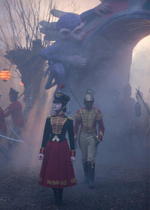Fantasy Filme mit Starbesetzung: Mackenzie Foy als Clara © Laurie Sparham, 2018 Disney Enterprises, Inc.