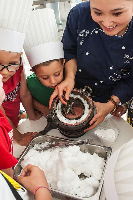 ICE ICE Baby: Auf Eiszeitreise in der Gelato School.