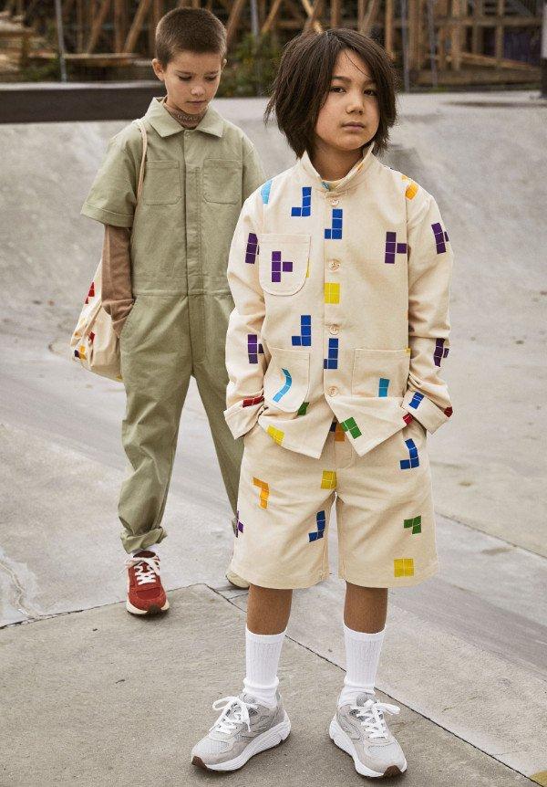 Streetwear von UNAUthorized, wie gemacht für die Generation Y: Anzug im Tetris-Design
