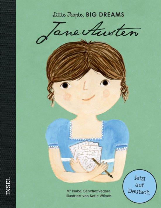 Hat auch mal klein angefangen. Gestatten: die beeindruckende Jane! © Insel Verlag
