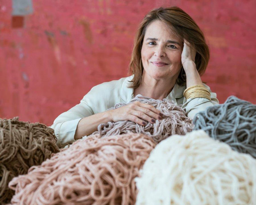 Verknüpft das Praktische mit der Kunst: Waschbare Teppiche haben Lorena Canals in den Teppich-Olymp katapultiert