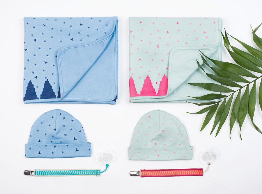 Zuckersüße Geburtsgeschenke in Cupcake-Farben: die mara mea Sets für Baby Boys und Baby Girls