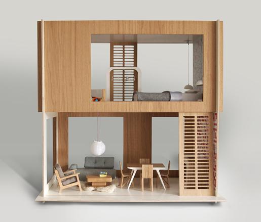puppenhaus von miniio sirch boomini dollsvilla by liliane hase weiss. Black Bedroom Furniture Sets. Home Design Ideas