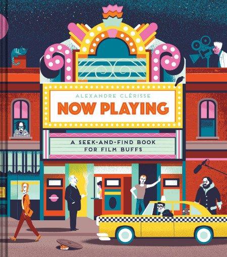 Geschenke für Filmfans ... Wimmelbücher für Cineasten: Now Playing ist ein echtes Meisterwerk © Chronicle Books
