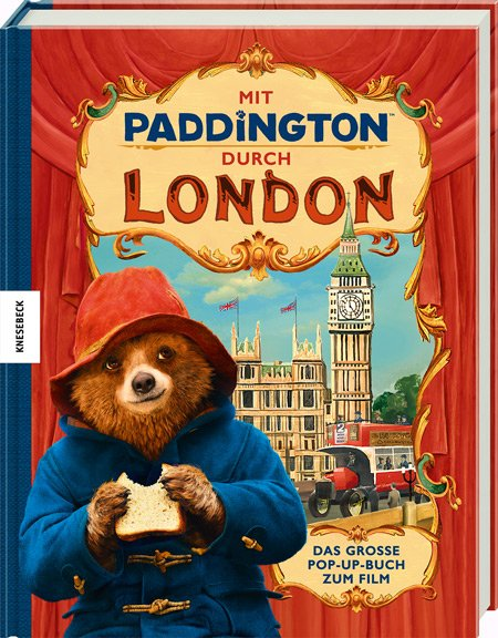 Kinofilme für Kinder als Inspiration: Das Paddington Universum in 3D. © Knesebeck Verlag