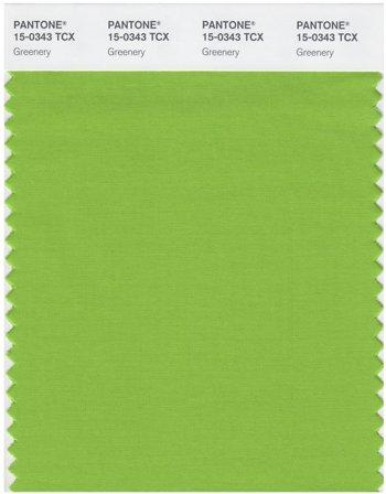 Greenery, die Trendfarbe 2017 © Pantone