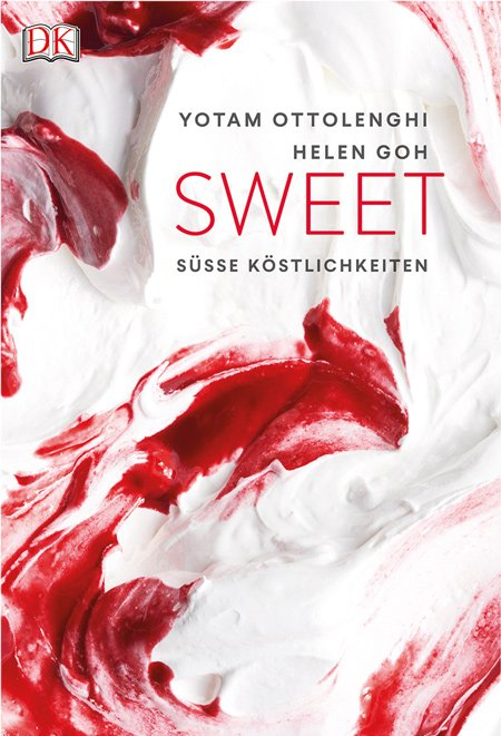 Geheimnisvoll. Diese farbenfrohe Meringue-Masse hat es aufs Cover geschafft. © Peden + Munk/DK Verlag