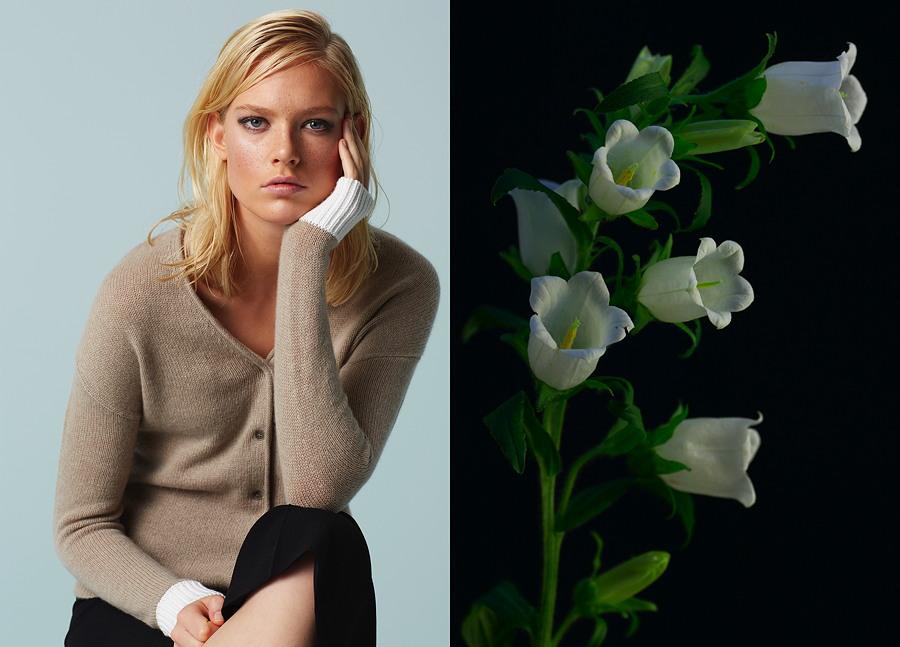 Zart wie ein Blütenblatt – Cardigan von Parenti's Finest Cashmere FS 16 © Beate Hansen