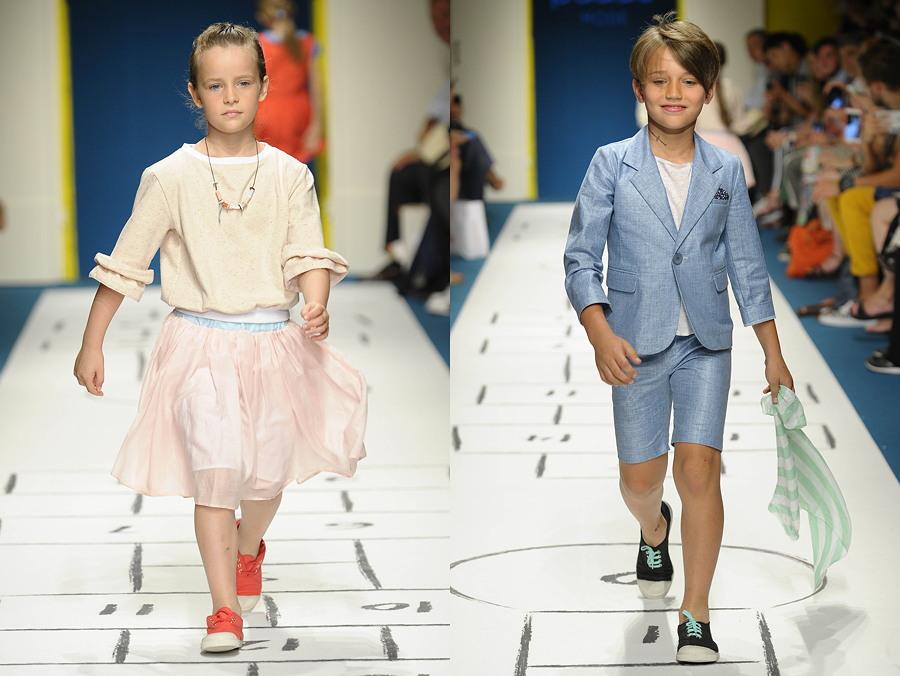 Pitti Bimbo 83: Clean Chic aus dem hohen Norden – das Label Paade Mode steht für einen ungezwungenen Look © Giovanni Giannoni
