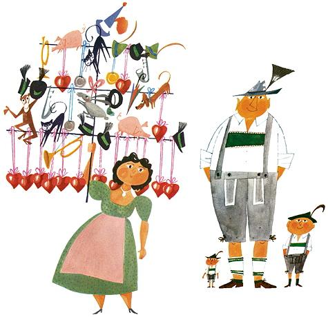 Mitbringsel vom Oktoberfest: Ein Herzerl fürs Herzerl! © Miroslav Sasek/ Antje Kunstmann Verlag