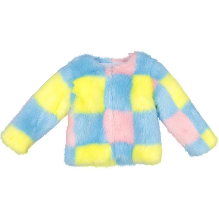 Fake Fur Jacke von (C R L N B S M N S)