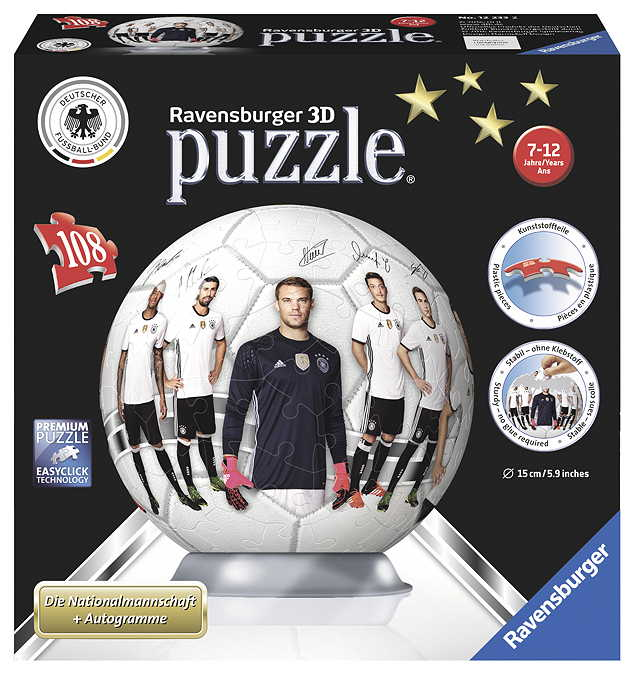 3D Puzzle-Ball DFB Nationalmannschaft 2016