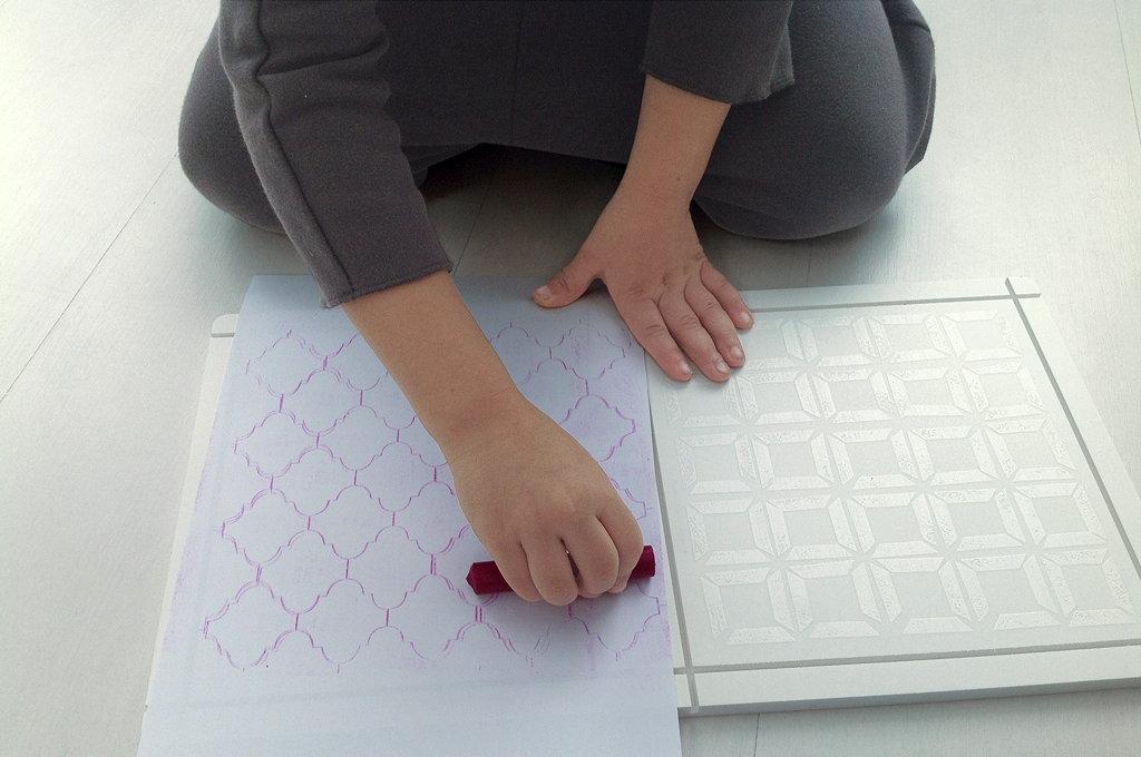 Bis ins kleinste Detail von Italiantoy durchdacht: Die Bodenplatten dienen als Vorlagen für neue Muster