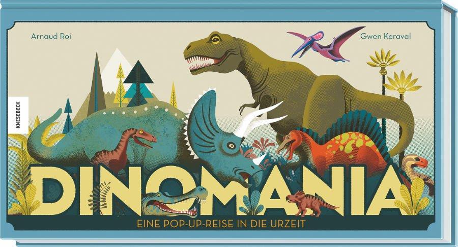 Dinosaurier Spielzeug und Dino Bücher stehen bei jungen Fans hoch im Kurs. Dinomania ist aber auch ein Buch für Erwachsene