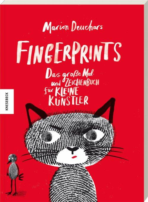 Fingerprints, ein interaktives Buch für kleine Künstler © Knesebeck Verlag