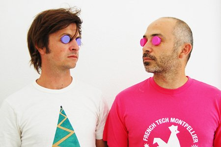 Mathieu Collos und Cyril Rheims haben ein Faible für Flaschendeckel