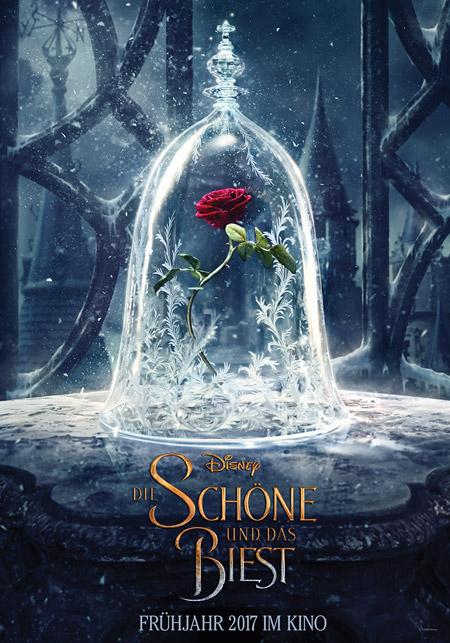 """Märchenfilm in 3D: """"Die Schöne und das Biest"""" © 2016 Disney Enterprises Inc."""