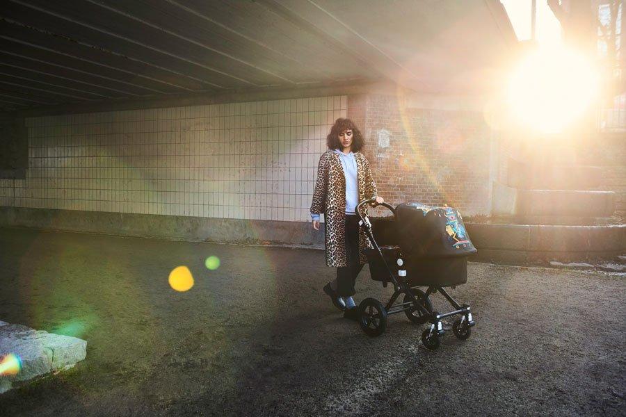 Bringt mordsmäßige Monsterlaune in die graue Großstadt: Der Bugaboo by Niark1 aus der neuen Limited Edition