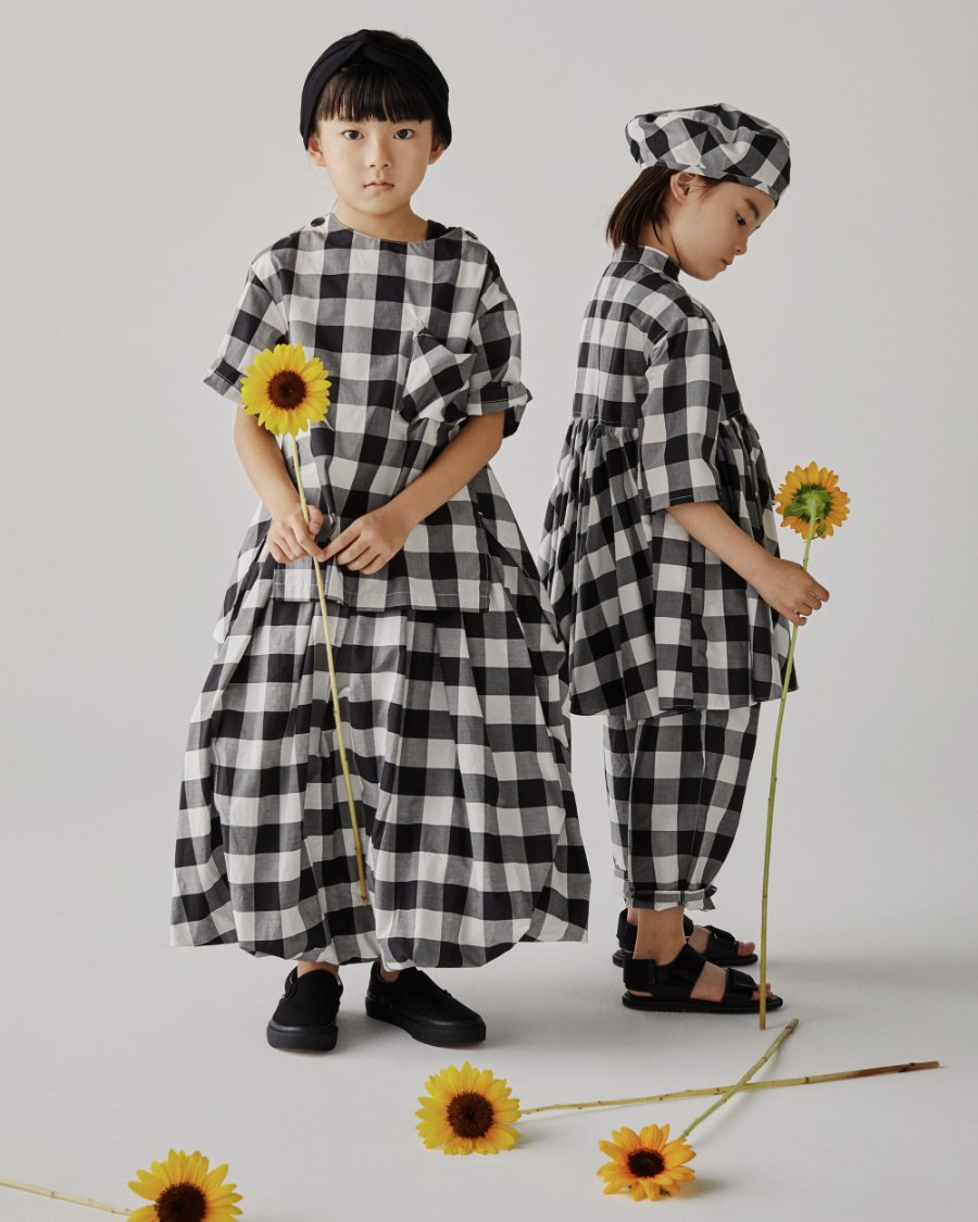 Kindermode zum Reinwachsen: Wie viele japanische Designer setzt auch Hiroyuki Inoue auf Loose Fit