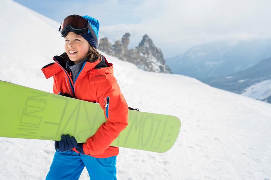 Auch auf der Skipiste ist der ReimaGO Sensor mit von der Partie