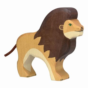 Löwen-Figur von Holztiger über smallable