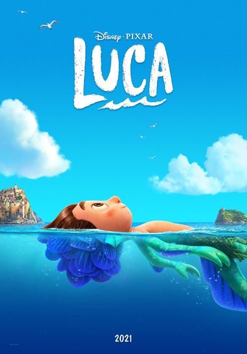 Auch ein Plädoyer für Diversity: der neue Pixar Film LUCA © Disney/Pixar