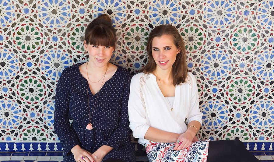 Maren Will und Dorina Hartmann starten gerade mit ihrem Label mara mea im Segment Baby Gear durch – Photo © Florian Reimann