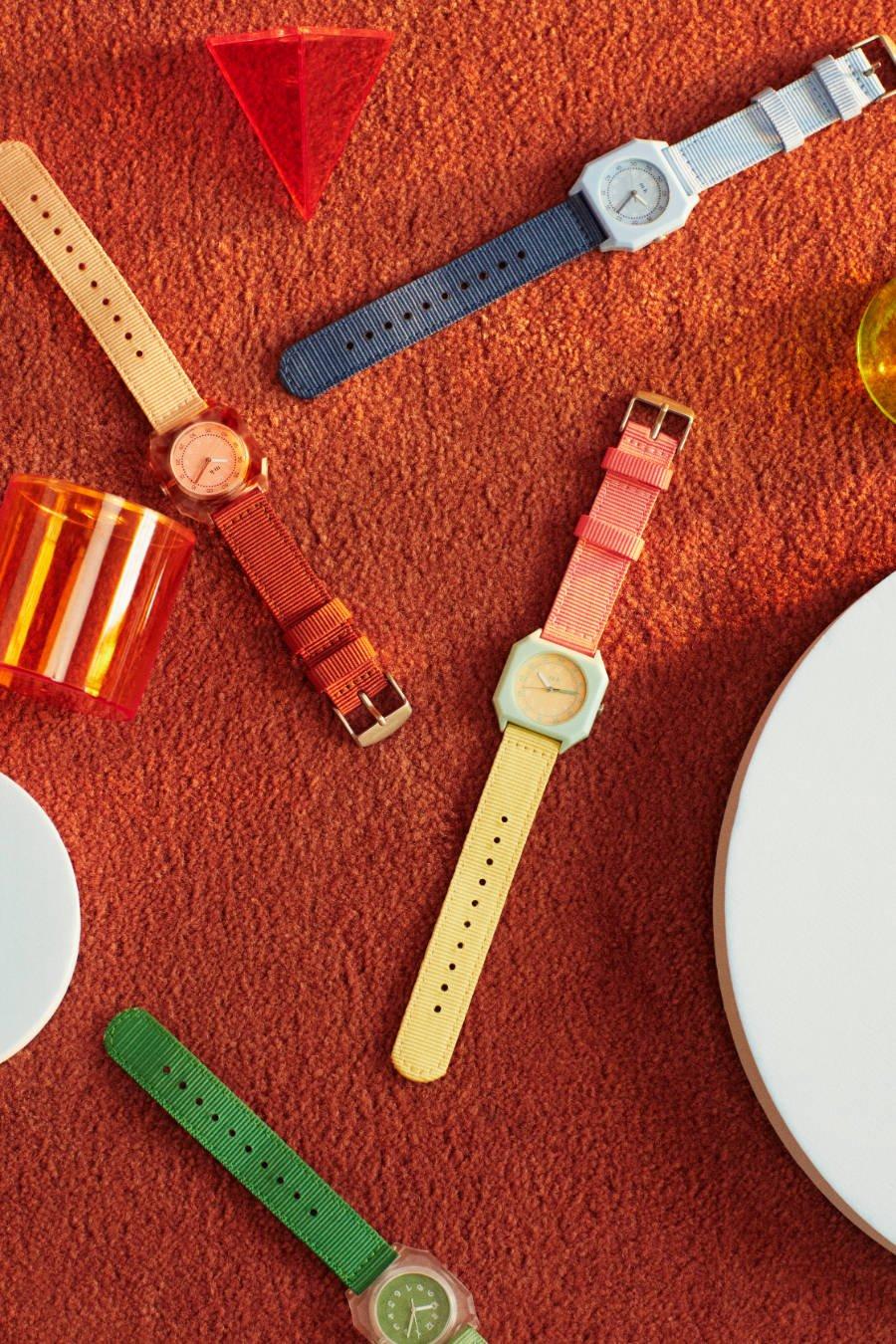 Gute Laune Booster fürs Handgelenk: MINI KYOMO lanciert Uhren für Kinder im 80er-Candy-Look